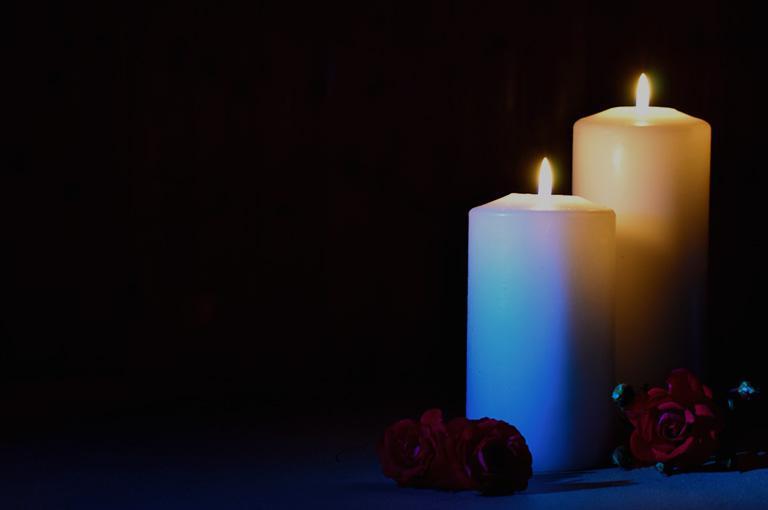 świece pogrzebowe